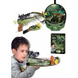 Hrací set G21 Kuše pistolová s terčem se zvířaty elektronická