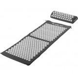 Akupresurní podložka s polštářem MOVIT 130 x 50 cm - šedá