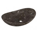 Umyvadlo z přírodního kamene Turpis Black