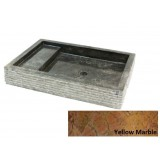 Kamenné umyvadlo Kotak Trap Marmo Yellow