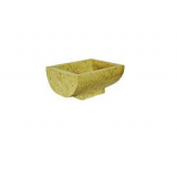 Umyvadlo z přírodního kamene Gratia Yellow