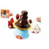 Čokoládová Fontána/ Dětské fondue plast 35cm na baterie v krabici 28x28x9cm