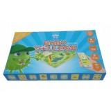 Baby College English stolní naučná hra s CD v krabici 35x22x5cm