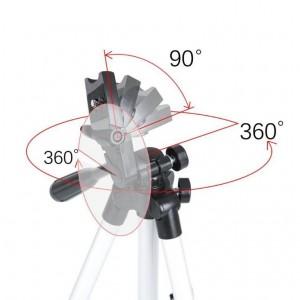 Stativ s dálkovým ovládáním a držákem na telefon - 103 cm
