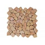 Mramorová mozaika Garth- růžová obklady 1 m2