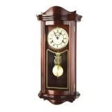 Kyvadlové nástěnné hodiny PROMETHEUS mahagon - 64 cm