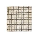 Mramorová mozaika Garth- krémová, 30 x 30 cm obklady - 1x síťka
