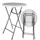 Party stolek BISTRO skládací