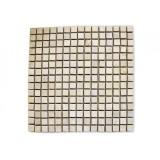 Mramorová mozaika Garth- krémová, 30 x 30 cm obklady 1 m2
