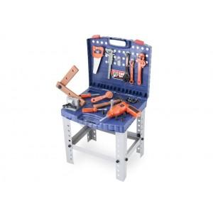 Dětské nářadí G21 kufřík a pracovní stůl