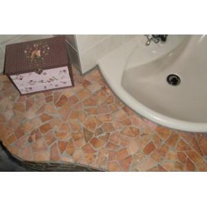 Mramorová mozaika Garth- růžová obklady 1 ks