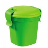 Plastový hrnek Lunch & go - S - zelený CURVER