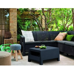 Zahradní set COFRU RELAX - antracit