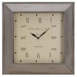 Nástěnné čtvercové hodiny 45 x 45 cm
