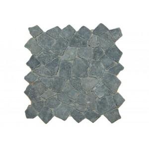 DIVERO Mozaika Garth z andezitu černá / tmavě šedá 33 X 33 cm