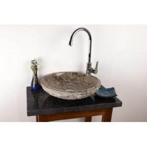 DIVERO umyvadlo z přírodního kamene Turin