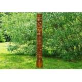 Dřevěný sloup totem
