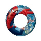 Bestway 98003 Nafukovací kruh Spiderman 56 cm