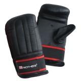 Boxerské kožené rukavice pytlovky, vel.M