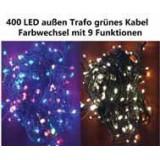 Vánoční světelný řetěz 400 LED - 9 blikajících funkcí - 39,9 m