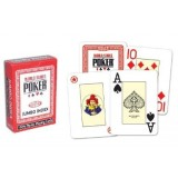 Poker karty WSOP jumbo index červené