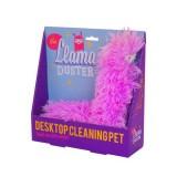 Stylová růžová prachovka lama