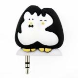 Rozdvojka na sluchátka Tučňáci
