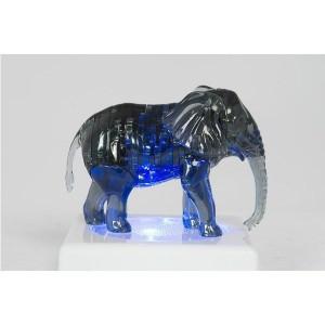 Krystal Puzzle-Slon